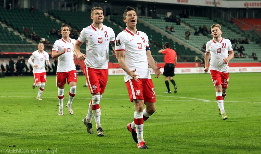 Mecz eliminacji mistrzostw świata Polska - Andora w Warszawie