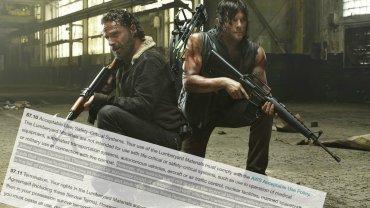 """Kadr z filmu """"The Walking Dead"""""""