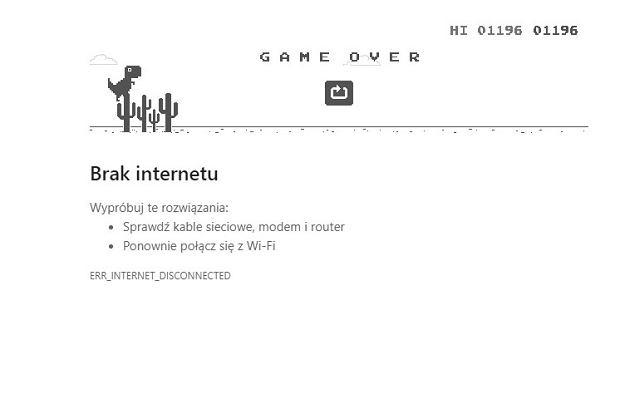 Screen z Google Chrome