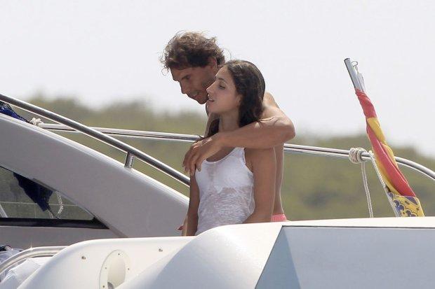 Rafael Nadal z dziewczyną