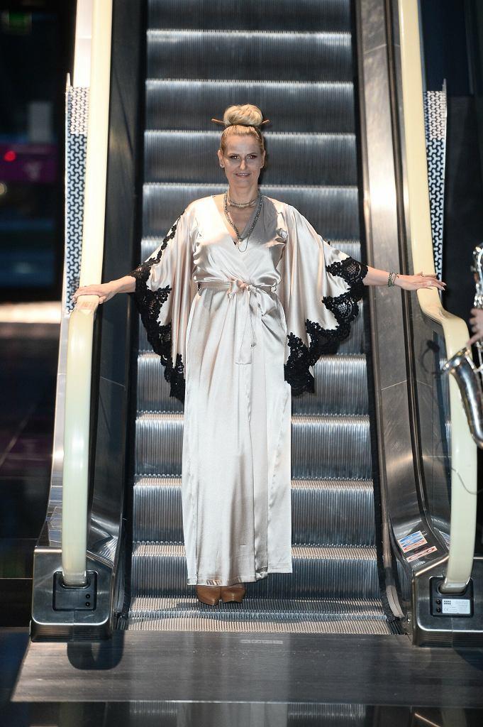 Dominika Tajner na pokazie mody