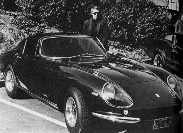 Ferrari 275 GTB/4 i Steve McQueen