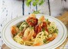 Spaghetti z krewetkami - Zdjęcia