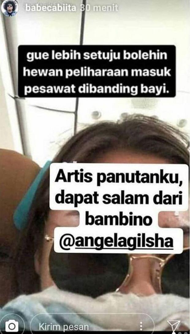 Angela Panari, popularna Instagramerka oburzona dziećmi płaczącymi w samolotach. 'Wolałabym siedzieć koło zwierzęcia'