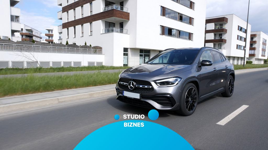 Mercedes GLA w Studiu Biznes