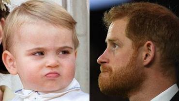 Książę Louis i książę Harry