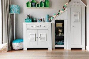Przestrzeń dla dziecka: własna szafa