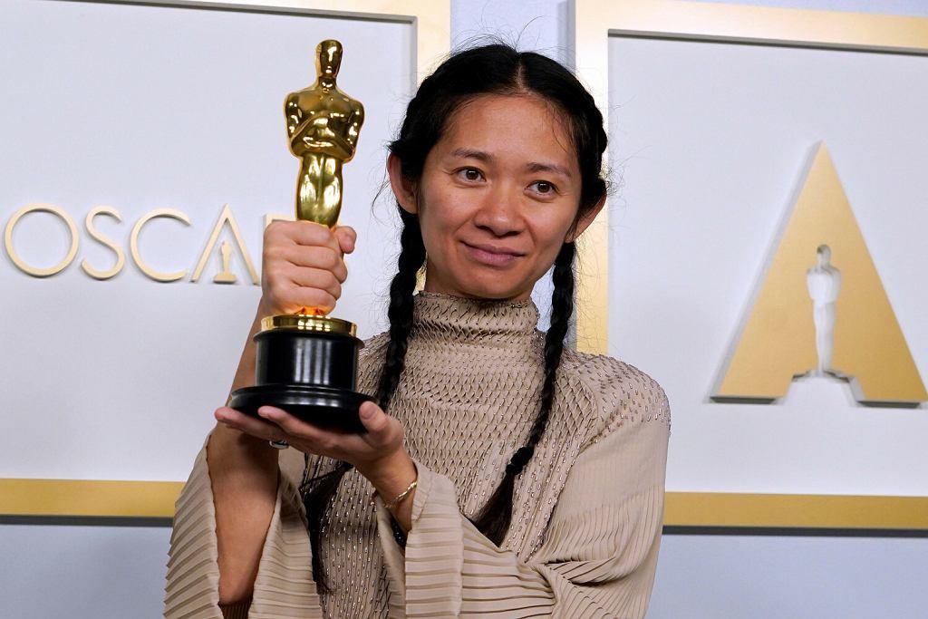 Chloe Zhao - Oscary 2021 - nagrodzeni