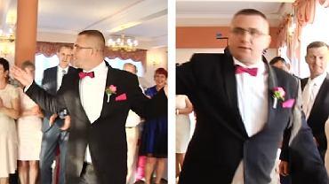 Zabawny pierwszy taniec