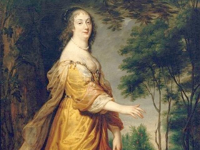 Ludwika Maria Gonzaga de Nevers (1611-1667) - królowa Polski, żona dwóch polskich królów: Władysława IV i Jana II Kazimierza
