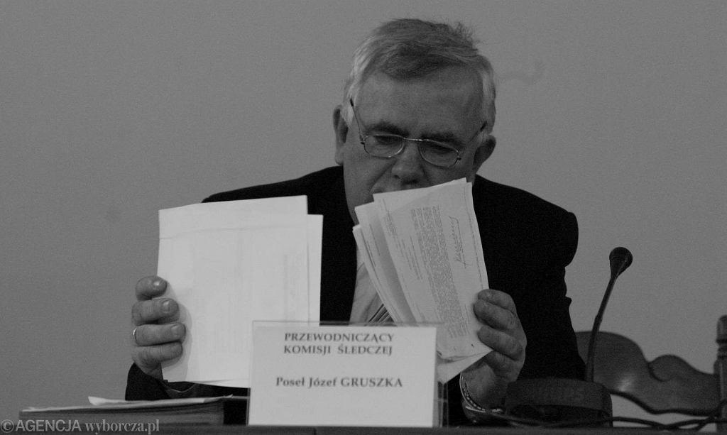 Poseł Józef Gruszka w Sejmie w 2004 roku