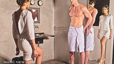 """""""50 twarzy Greya"""" zainspirowała twórców kampanii reklamowej jednej z firm odzieżowych do odtworzenia jednej ze scen z powieści. W postać Anastazji wcieliła się Miss Universe 2008 - Dayana Mendoza, a Christiana - szkocki gracz w rugby - Thom Evans."""