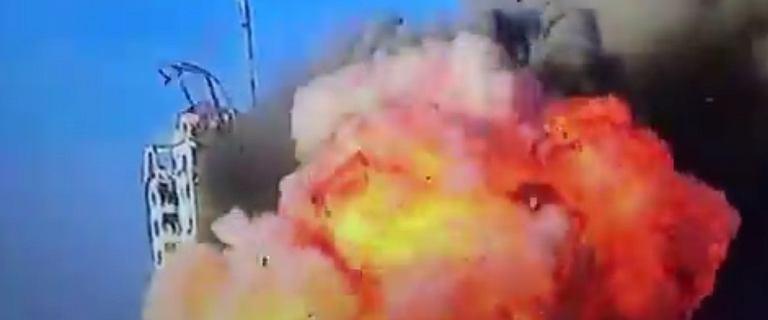Wieżowiec w Strefie Gazy zbombardowany. Media: Wcześniej była ewakuacja