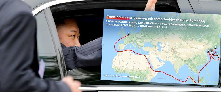 Skąd Kim Dzong Un bierze Mercedesy? Przemyt dóbr odbywa się z aż 90 państw