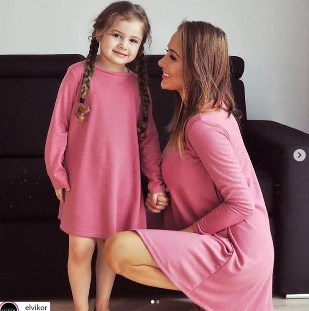 Eliza Trybała z córką