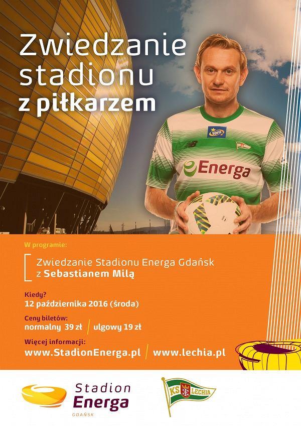 Zwiedzaj Stadion z Sebastianem Milą
