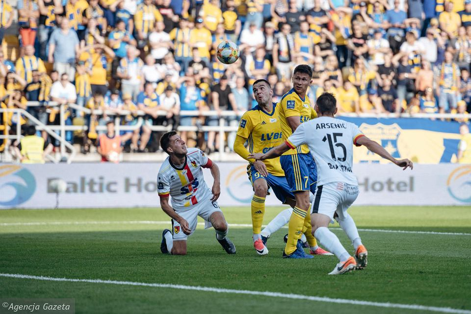 Arka Gdynia - Jagiellonia Białystok 0:3