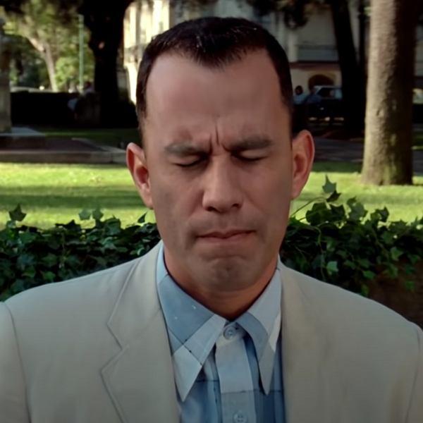 Travolta jako Forrest Gump