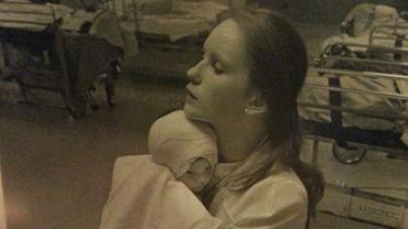 Zdjęcie zrobiono w 1977 roku w jednym z nowojorskich szpitali