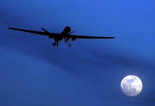 Jeden z amerykańskich dronów