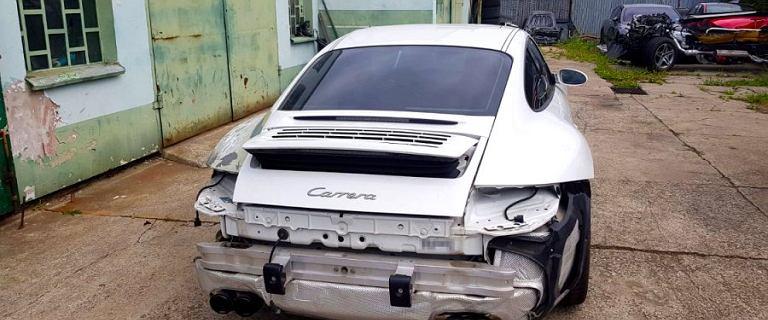 CBŚP zatrzymało fałszerzy. Rozbierali i zaniżali wartość luksusowych aut