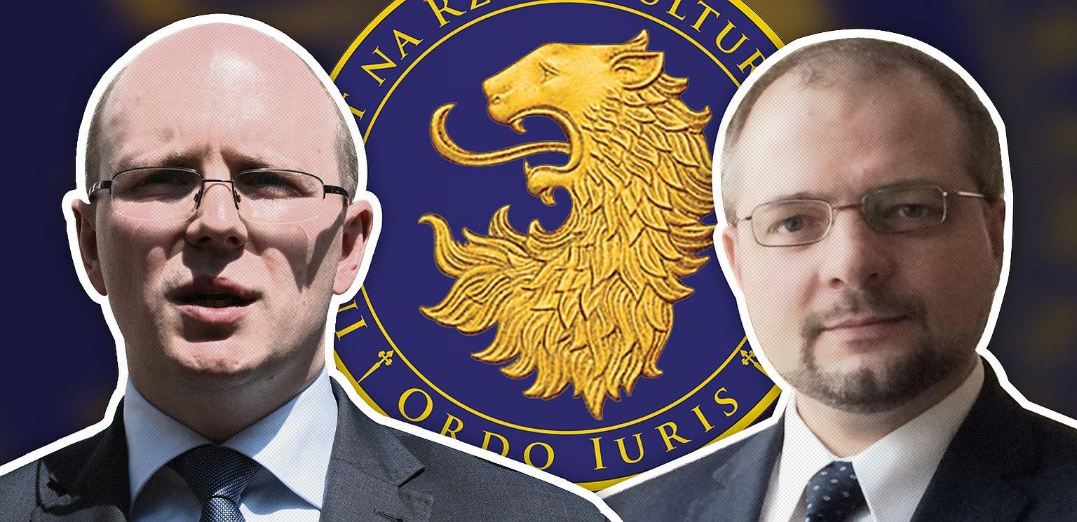 J. Kwaśniewski i A. Stępkowski