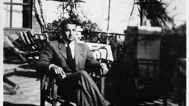 Paweł Hertz w Taorminie, rok 1938. Zdjęcie wykonał Jarosław Iwaszkiewicz