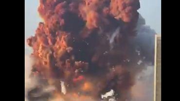 Wybuch w porcie  w Libanie