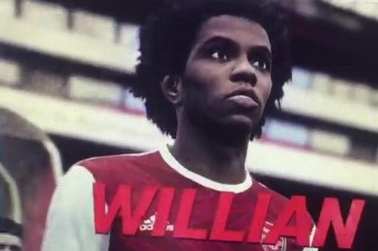 Willian przejdzie do Arsenalu? Do internetu wyciekł klip wideo