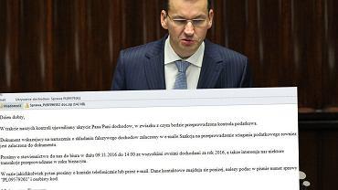 Ministerstwo Finansów ostrzega przed fałszywymi mailami