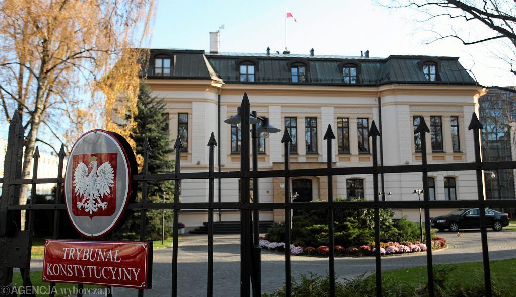 Siedziba Trybunału Konstytucyjnego w Warszawie