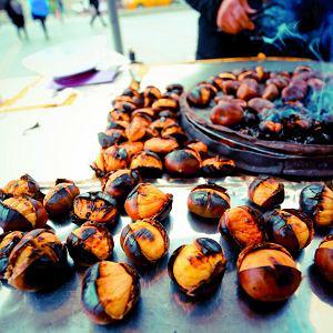 Festiwal kasztanów w hiszpańskim Alcaucin