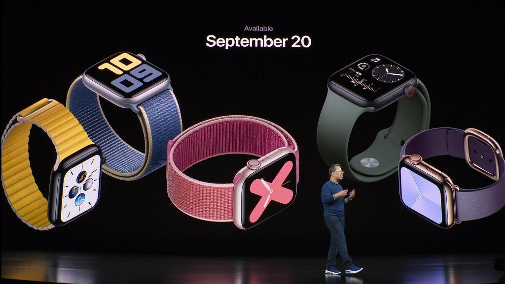 Apple prezentuje nowego Apple Watcha