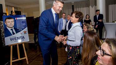 Kielce, 4 listopada 2018. Wybory samorządowe. Bogdan Wenta wygrywa drugą turę i zostaje prezydentem Kielc