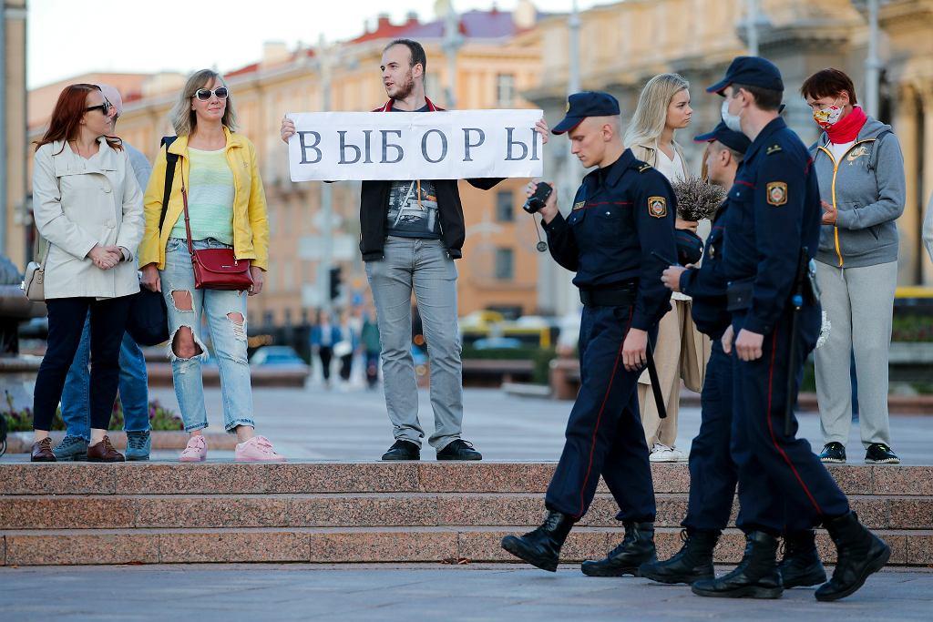 Białoruś. Protesty po wyborach