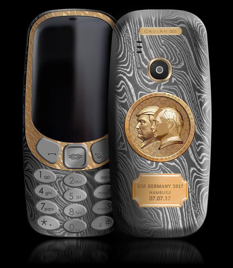 Nokia 3310 Putin Trump Summit Edition