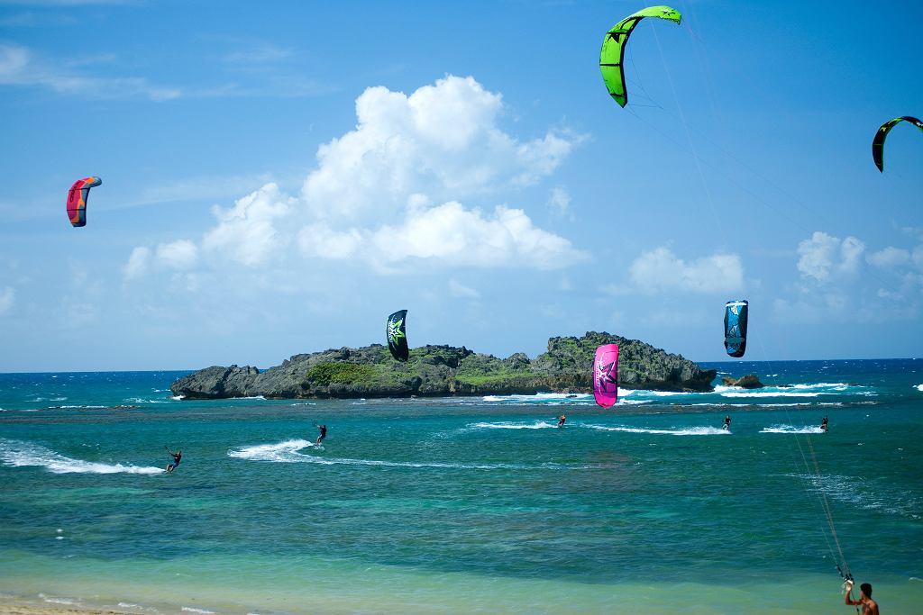 Wody Dominikany świetnie nadają się do uprawiania sportów wodnych