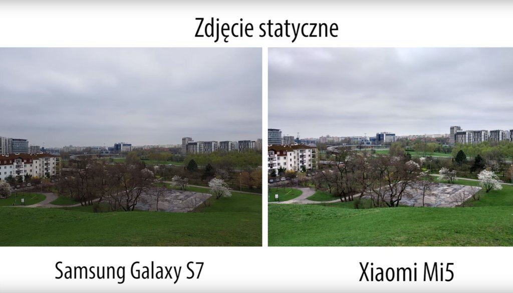 Porównanie aparatów Mi 5 i S7