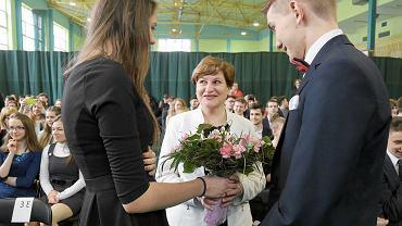 Zakończenie roku szkolnego maturzystów w I Liceum Ogólnokształcącym w Białymstoku