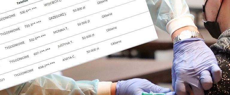 Loteria szczepionkowa. Wyniki losowania tygodniowego. Kto wygrał 50 tys. zł?