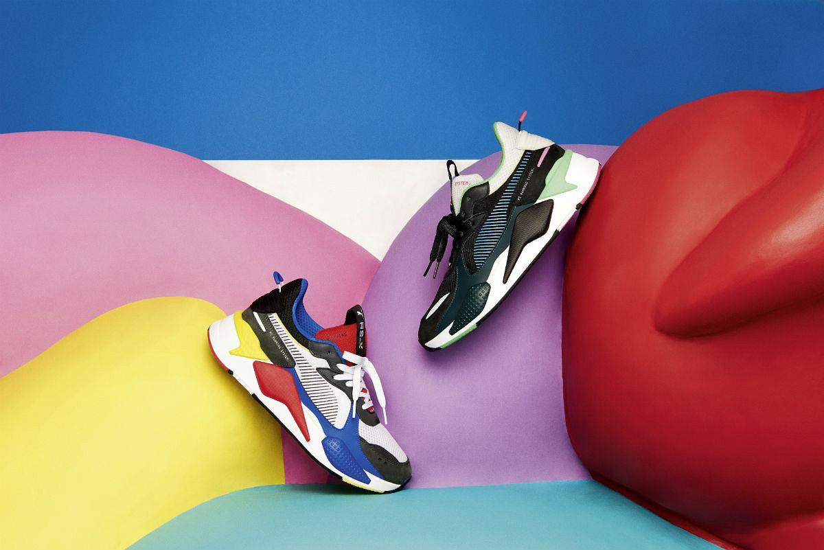 43c3ccf55ff4d PUMA RS-X TOYS: sneakersy w retro odsłonie wracają
