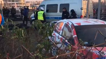 Wypadek podczas Rajdu Barbórka