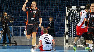 Paweł Krupa z Pogoni Handball
