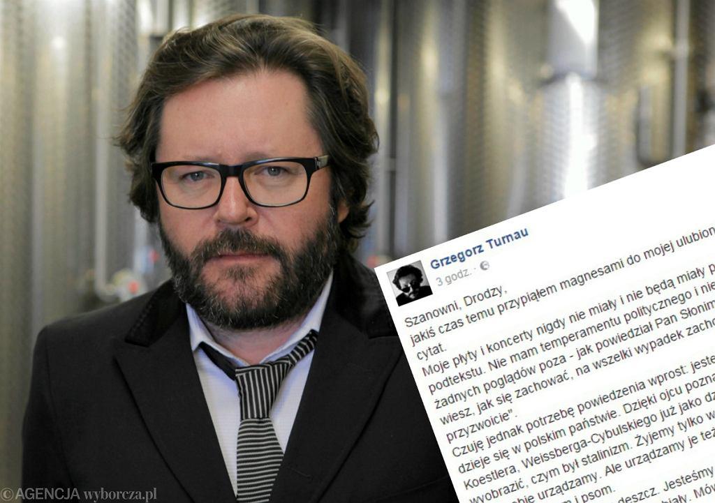 Grzegorz Turnau i emocjonalny wpis artysty na Facebooku