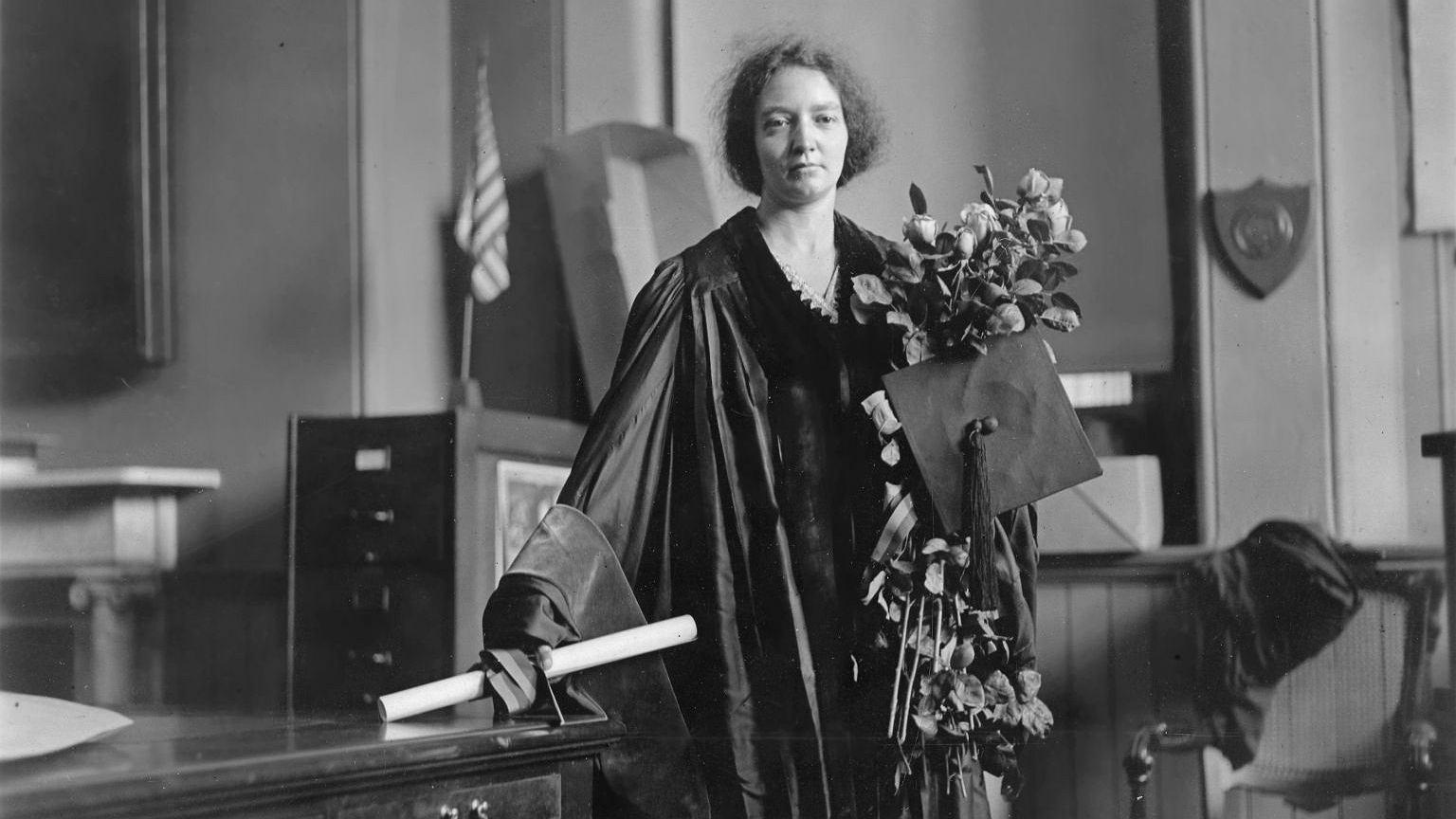 Irena Joliot-Curie w 1921 roku