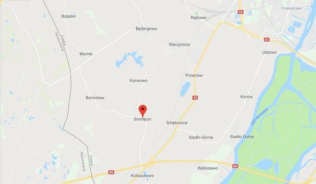 Do wypadku doszło na przejeździe kolejowym w Smolęcinie (zachodniopomorskie)