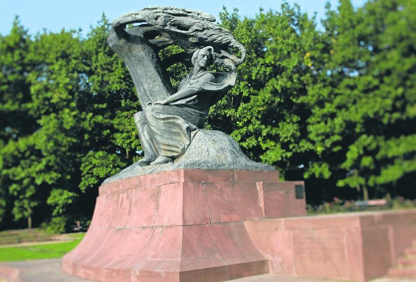 Pomnik Fryderyka Chopina W Warszawie Od 59 Lat Ponownie