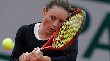 Tamara Zidansek w tegorocznym Roland Garros dotarła aż do półfinału