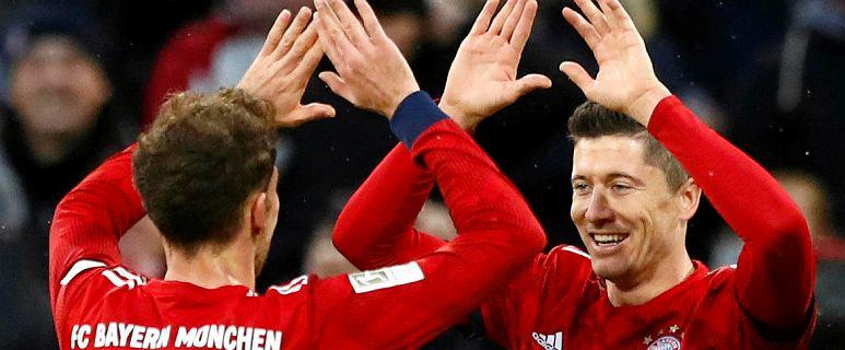 Bundesliga. Dwie bramki Roberta Lewandowskiego