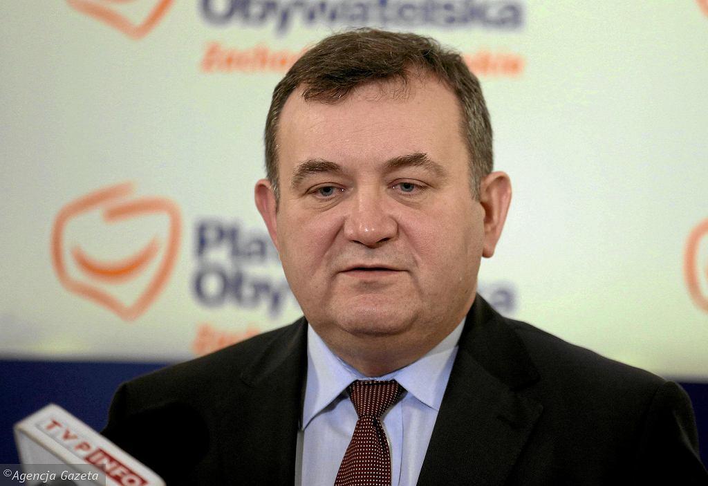 Stanisław Gawłowski, polityk PO, senator elekt